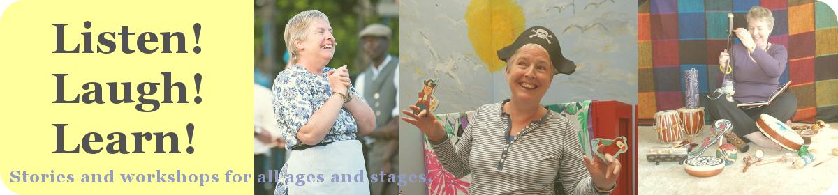 Listen! Laugh! Learn! – Betty Skelton, Storyteller
