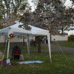 Photo of Storytelling Gazaebo set up at Lauriston Castle